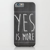 Yes is More iPhone 6 Slim Case