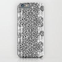 Newspaper Stripe iPhone 6 Slim Case