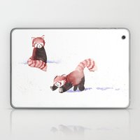 Red Pandas in the Snow Laptop & iPad Skin