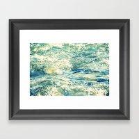 Watter Framed Art Print