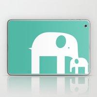 Blue Elephants Laptop & iPad Skin