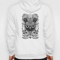 Day Of The Dead Bunny Ce… Hoody