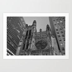 5th Avenue Church Art Print