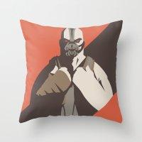 Bane Throw Pillow
