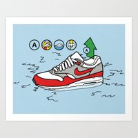 MAX100 / 002: Rescued Art Print