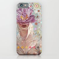 iPhone & iPod Case featuring A flower in my garden by Andres Kal