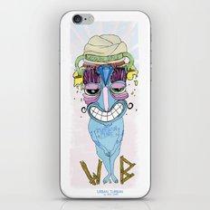 urban turban iPhone & iPod Skin