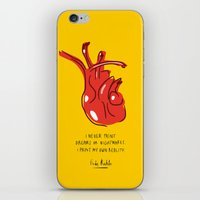 Frida Heart iPhone & iPod Skin