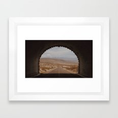 Big Bend Tunnel, Texas  Framed Art Print
