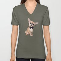 Mr. Chihuahua Unisex V-Neck