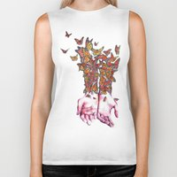 The Butterfly Project Biker Tank