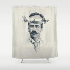 Disorientation Shower Curtain
