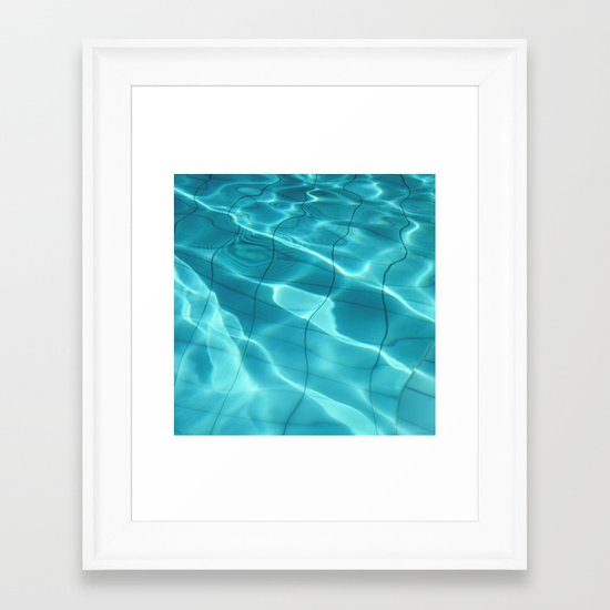 Water / H2O #54 Framed Art Print