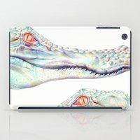 Albino Alligator iPad Case