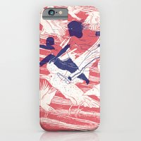 iPhone & iPod Case featuring The Leap by YONIL