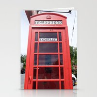 Telephone Booth Stationery Cards