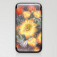 Shabby Flowers #3 iPhone & iPod Skin