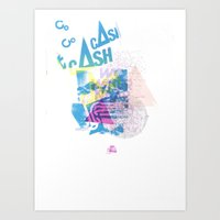 Cash Silk 001 Art Print