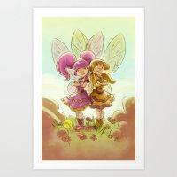 Goblins Drool, Fairies Rule! - P.B. and Jelly Art Print