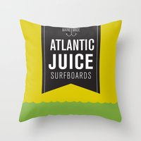 Atlantic Juice Throw Pillow
