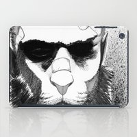 Lion man iPad Case