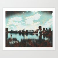 The Reservoir Art Print