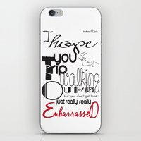 Tripping - Backhanded In… iPhone & iPod Skin