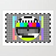 Mire TV Art Print