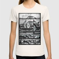 Historic car Womens Fitted Tee Natural SMALL