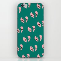 Broken Hearts iPhone & iPod Skin