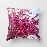 Apple Blossom-2014 Throw Pillow