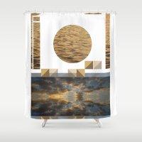 Sea Clouds—photo collage!¡!¡!ƒün! Shower Curtain