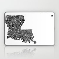Typographic Louisiana Laptop & iPad Skin