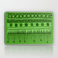 Yzor pattern 007 green Laptop & iPad Skin
