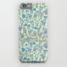 Live Lovely, Print Slim Case iPhone 6s