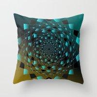 Magic Circle Throw Pillow