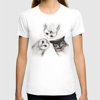 love T-shirts featuring The Owl's 3 by Isaiah K. Stephens