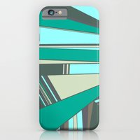Triangles and Stripes iPhone 6 Slim Case
