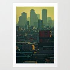 Eastern Seoul (II) Art Print