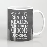 Really, really, ridiculously good looking (Zoolander). Mug