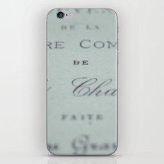 Fonts iPhone & iPod Skin