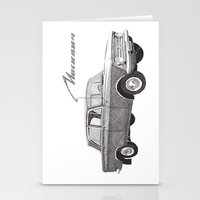 Moskvich 408 Stationery Cards