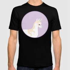 Unicorn Mens Fitted Tee Black SMALL