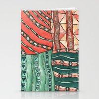 Patterned Piece #1 Stationery Cards