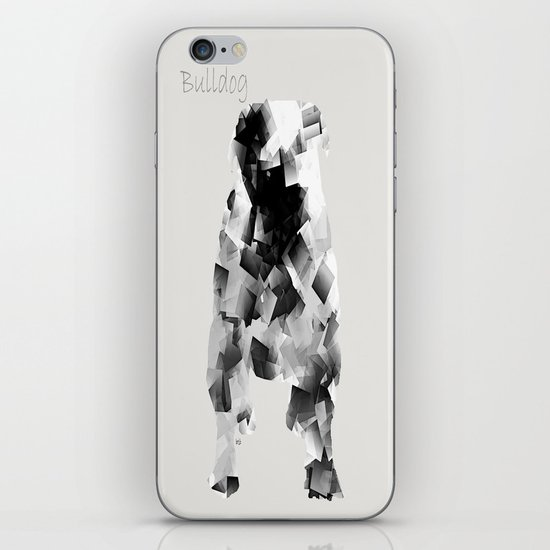 the bulldog  iPhone & iPod Skin