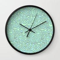 Wacky Pattern Wall Clock