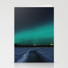 Northern Lights In The G… Stationery Cards