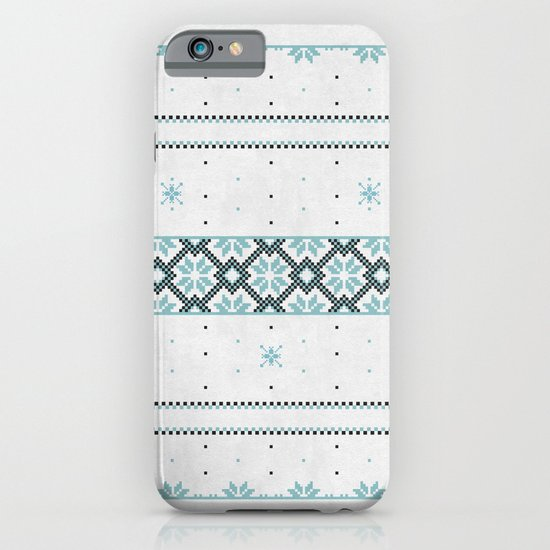 Christmas pattern iPhone & iPod Case