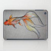Goldfish Pond (close up #6) iPad Case