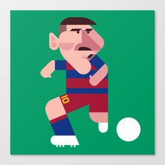 LM10 Mini | Blaugrana Canvas Print